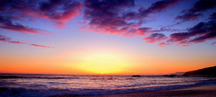 Море_закат