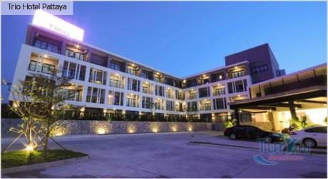 Trio Hotel Pattaya 3* от 940 $